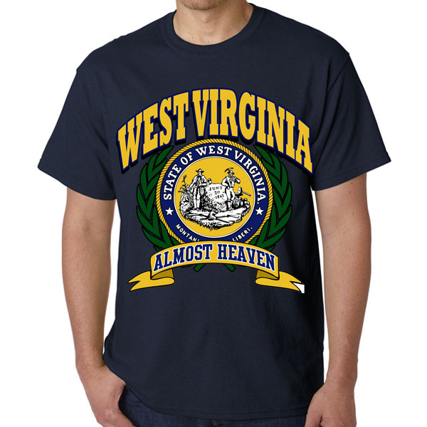State of west virginia shirts funny not like the rest for Old navy school shirts